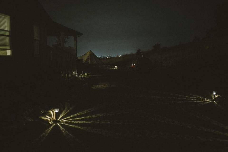 Outdoor Night Scene