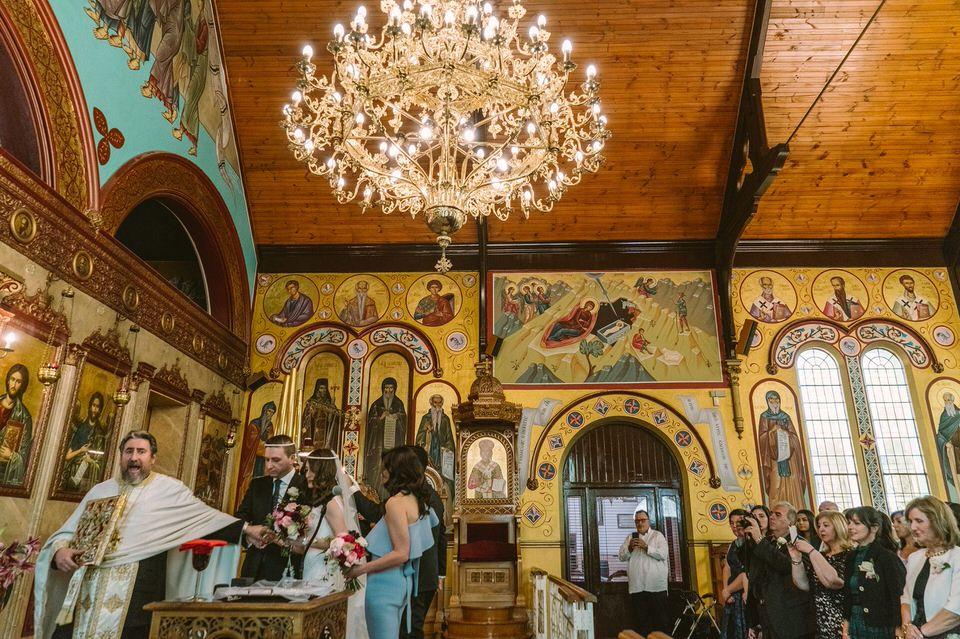 Ornate Church Wedding Ceremony