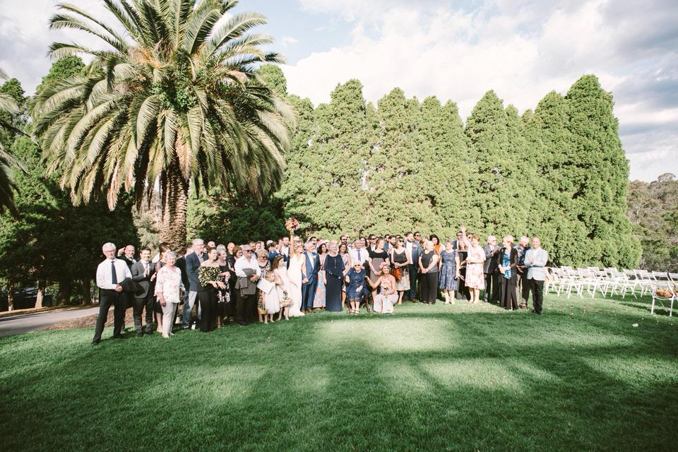 Outdoor Wedding Party in Melbourne