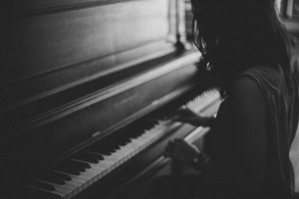 Wedding Guest at Piano
