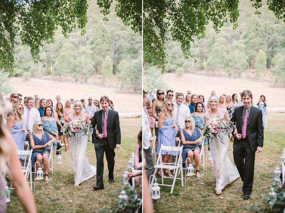 tooronga river chalets wedding photography